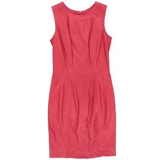 Muu Baa Muubaa Red Leather Dresses