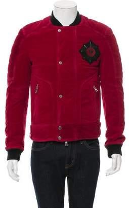 Balmain 2016 Embroidered Velvet Jacket