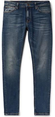 Nudie Jeans Skinny Lin Organic Stretch-Denim Jeans - Men - Blue