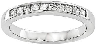 MODERN BRIDE 1/2 CT. T.W. Diamond 14K White Gold Wedding Band