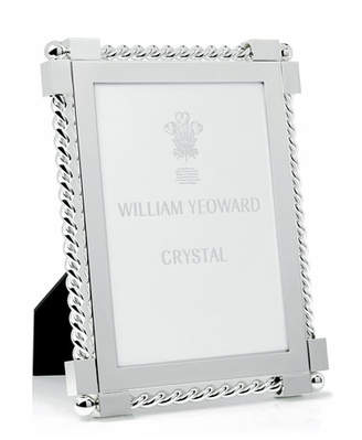 "William Yeoward Silver Twist Picture Frame, 5"" x 7"""