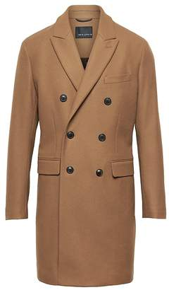 Banana Republic BR x Kevin Love | Italian Melton Double-Breasted Topcoat