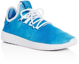 adidas Unisex Pharrell Williams Hu Lace Up Sneakers - Big Kid