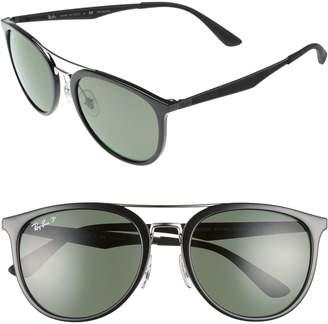 Ray-Ban 55mm Polarized Sunglasses