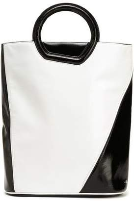 3.1 Phillip Lim Two-Tone Patent-Leather Tote