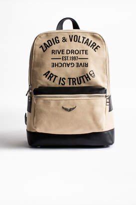 Zadig & Voltaire Arizona Canvas backpack