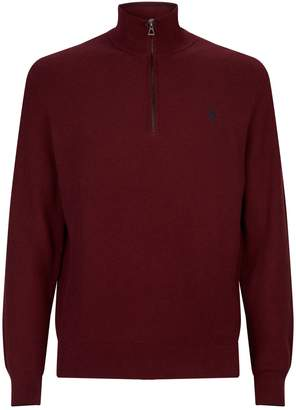Polo Ralph Lauren Honeycomb Half-Zip Sweater