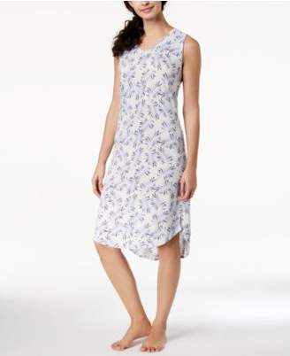 Ande Whisperluxe High-Low-Hem Printed Chemise