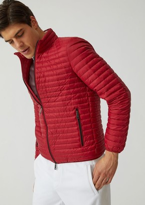 Emporio Armani Technical Fabric Down Jacket
