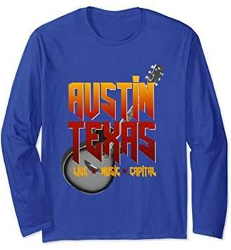 Austin Live Music Capital | Long Sleeve Austin Texas Shirt