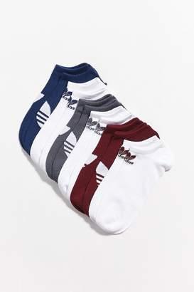 adidas Trefoil No-Show Sock – 6 Pack