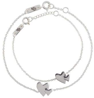 Lennebelle Petits Our Hearts Beat As One Giftset - Silver