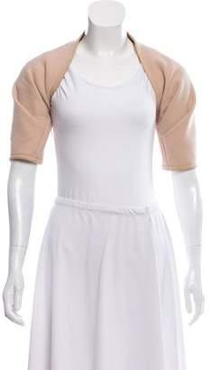 Narciso Rodriguez Wool Short Sleeve Bolero