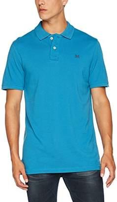 Crew Clothing Men's Classic Pique Polo Shirt, (Dusk Blue)