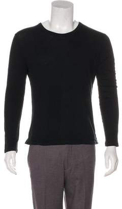 Alexander Wang Long Sleeve Scoop Neck T-Shirt