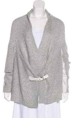 Townsen Paneled Sleeve Knit Cardigan