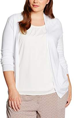 708b2979fd732 at Amazon.co.uk · New Look Curves Women s Lace Shoulder Long Sleeve Cardigan