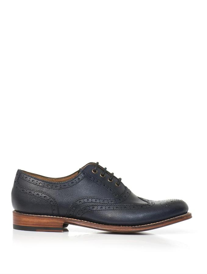 Grenson Rose leather brogues