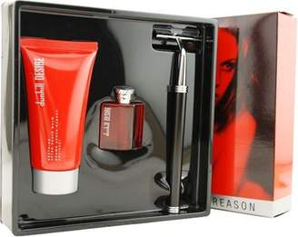 Dunhill Desire by Alfred for Men 3 Piece Set Includes: 0.17 oz Eau de Toilette Collectible + 1.7 oz Soothing After-Shave Balm + Razor