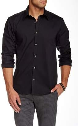 Lindbergh Solid Long Sleeve Slim Fit Shirt