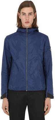 Prada Hooded Light Nylon Casual Jacket