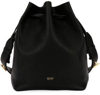 Tom Ford Edge Epson/Soft Calf Hobo Bag