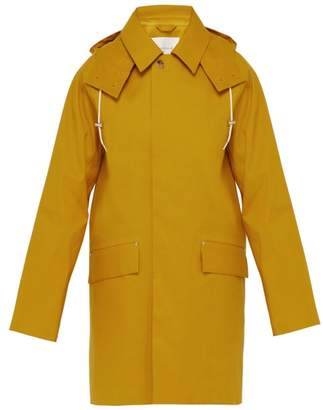MACKINTOSH Hooded Bonded Cotton Parka - Mens - Yellow