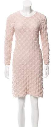 See by Chloe Textured Knit Sweater Dress