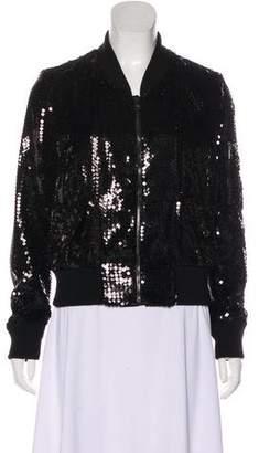 Dolce & Gabbana Sequined Bomber Jacket