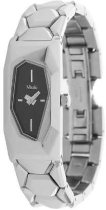 Misaki Women's Quartz Watch with Black Dial Analogue Display Quartz Stainless Steel QCRWKRYPTO