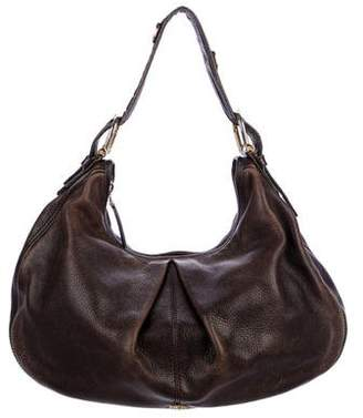 Burberry Malika Leather Hobo