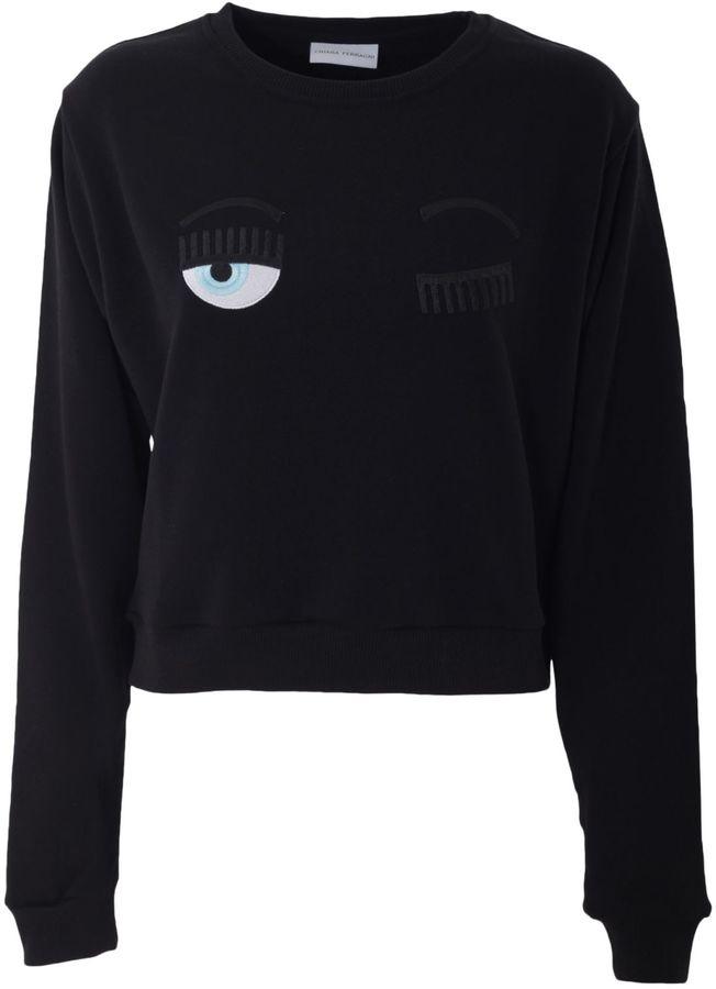 Chiara FerragniChiara Ferragni Cotton Sweatshirt