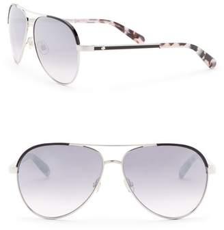b783dc65aea Kate Spade Amarissa 59mm Aviator Sunglasses
