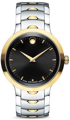 Movado Two-Tone Luno Watch, 40mm