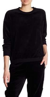 Vince Velour Dolman Sleeve Pullover