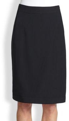 Helmut Lang Palm Pencil Skirt