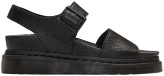 Dr. Martens Black Romi Sandals $95 thestylecure.com