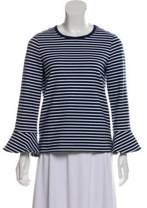 Draper James Striped Long Sleeve Top