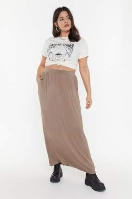 Nasty Gal MS Pocket Maxi Skirt