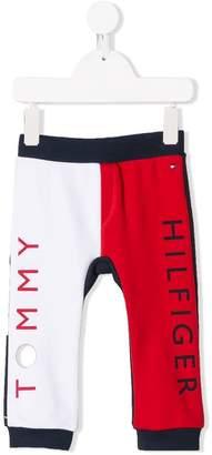 Tommy Hilfiger Junior logo track pants