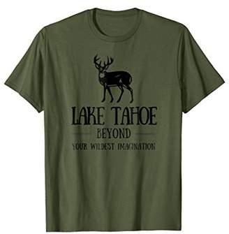 Lake Tahoe Shirt Deer Hiking Tee Lake Vacation Trip T-Shirt