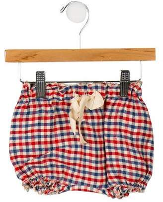 Babe & Tess Girls' Checkered Print Bloomers w/ Tags