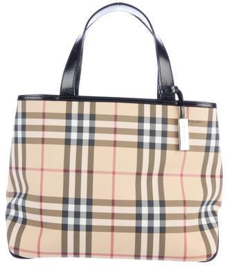 Burberry Burberry Nova Check Handle Bag