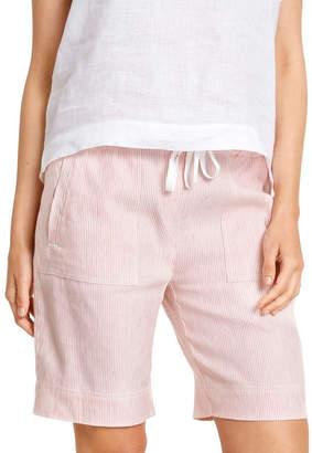 Sportscraft Rosa Stripe Linen Short