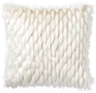 Pottery Barn Teen Faux-Fur Pillow Cover, 26 x 26&rdquo, Winter Fox