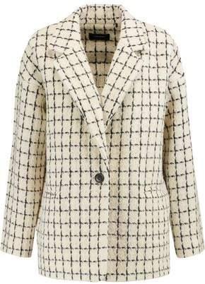 Isabel Marant Checked Wool-Blend Jacket
