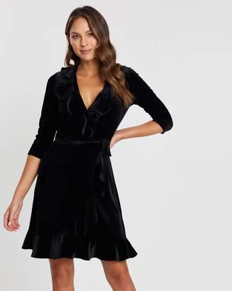 Review Priscilla Wrap Dress