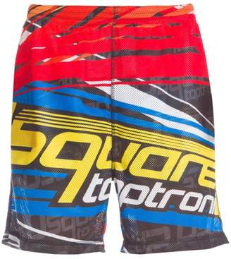 DSQUARED2 Taptronic Graphic Perforated Shorts