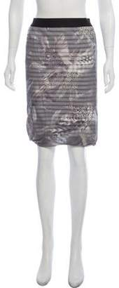 Marc Cain Printed Knee-Length Skirt