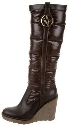 Moncler Moncler Quilted Puffer Boots